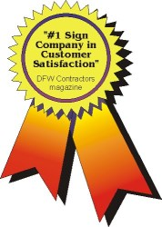 #1 Signs Company in Customer Satisfaction
