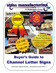 Sign Buyer's Guide to Channel Letter Signs Brochure