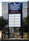 Pylon Sign with LED Electronic Message Center